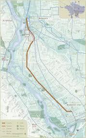 Portland Trails Map by Trolley Trail Master Plan Metro