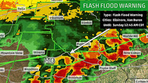 Missouri Flooding Map The Weather Channel On Twitter