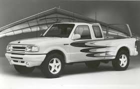 Ford Ranger Pickup Truck - 1994 ford ranger sky splash concept