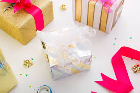 bling out your gifts with metallic wrapping hacks brit co