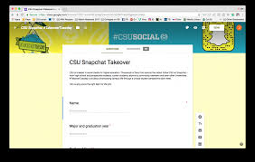 strategy snapchat takeovers in higher ed social csu