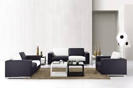 White Living Room Chair Black And White Room Decor For Masculine Look U2013 Black Furniture