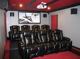 this couple turned their storage room into a home theater