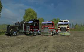 kenworth heavy trucks kenworth t908 v1 0 trucks farming simulator 2017 2015 15