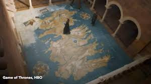 Canada Map Game by Game Of Thrones Fans Spot Chilling Message On Map In Cersei U0027s