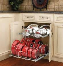 Kitchen Cabinet Pull Outs by Kitchen Cabinet Organization Slide Outs Roll Outs With Kitchen