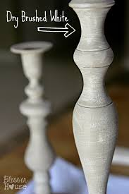 diy distressed thrift store candlesticks bless u0027er house