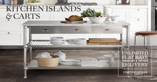 pictures of kitchen islands kitchen islands serving carts williams sonoma