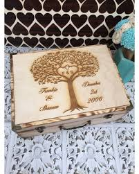 Personalized Wooden Boxes Deals On Wedding Guest Book Rustic Wedding Box Personalized