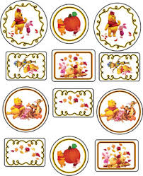 stickers thanksgiving pooh 2 thanksgiving stickers free