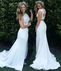 two wedding dress best 25 2 wedding dress ideas on two