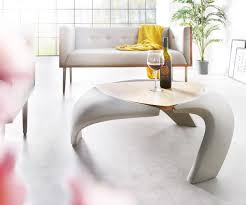 Wohnzimmertisch Betonoptik Couchtisch Rock 90x90 Cm Grau Beton Optik Holz Ablage Möbel Tische