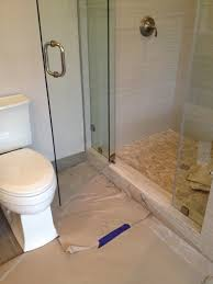 Shower Door Stop New Shower Glass Door Hits The Toilet