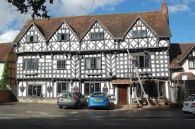 timbered buildings in warwick our warwickshire