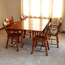 vintage table and chairs gate leg table and chairs vintage golden beryl maple gate leg table