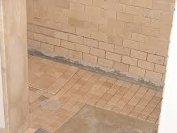 How To Tile A Bathroom Shower Floor Uncategorized Shower Floor Designs Inside How To Install