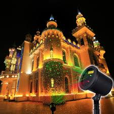 Christmas Laser Projector Lights by Decolighting Outdoor Waterproof Red And Green Laser Light
