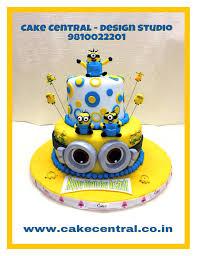 Minion Cake 2 Tier Birthday Cake For Boys Beautifully