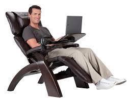 Recliner Computer Desk by Perfect Chair Laptop Desk