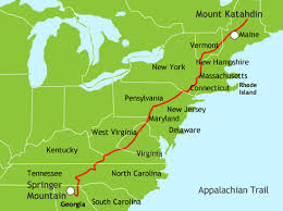 appalachian mountains on map congratulations tripper and slipper on completing your journey
