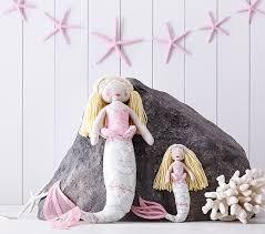 Pottery Barn Kids International Shipping Mermaid Plush Pottery Barn Kids