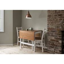 white drop leaf dining table annika dining table with 4 chairs 140cm noa nani
