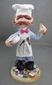 jim henson s muppet show swedish chef 4 mini muppet figurine
