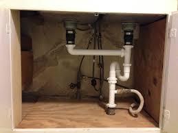 under kitchen sink drain plumbing kitchen plumbing under kitchen sink exquisite on intended diagram