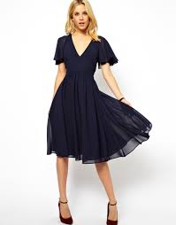 40s style asos frill sleeve dress sleeved dress 40s style and