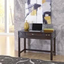 home decorators collection artisan dark oak secretary desk with