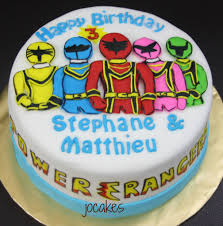 power rangers birthday cake power rangers cake jocakes