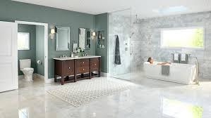 bathroom decorating ideas for small spaces small two piece bathroom ideas white hex tiles on the floors look