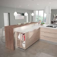 fabricants de cuisines cuisine coloris bois monza 1 moderne contemporaine haut de