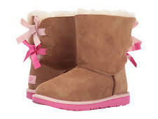 ugg womens boots pink boot ugg bailey bow ii chestnut pink azalea water