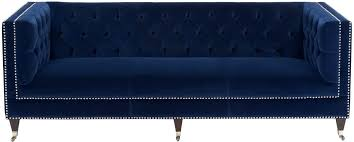 Blue Velvet Chesterfield Sofa Fresh Navy Blue Velvet And Miller Velvet Sofa Color Navy