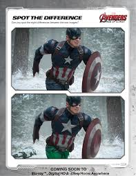 avengers spot the difference 1 disney movies