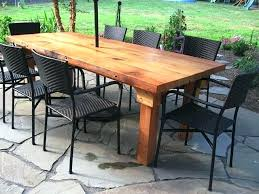 reclaimed wood outdoor table reclaimed wood outdoor furniture patio sized reclaimed wood farm
