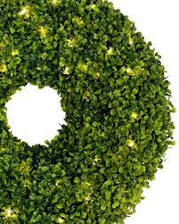 boxwood wreaths battery operated boxwood wreath balsam hill