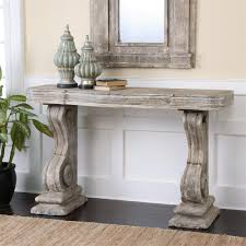 Grey Console Table Lisette Country Antique Grey Carved Console Table