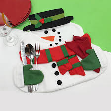 new year placemats aliexpress buy hot 1 pc christmas style santa claus snowman