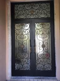 ornamental impact iron door hurricane iron door siw impact
