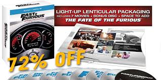 72 off fast u0026 furious blu ray boxset movie deal expired