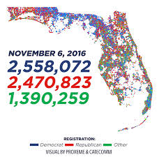 2016 Election Map by Proxeme Helps Map Voter Turnout In 2016 Election U2013 Proxeme