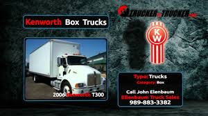 kw for sale kenworth box trucks for sale shop kw box trucks online youtube
