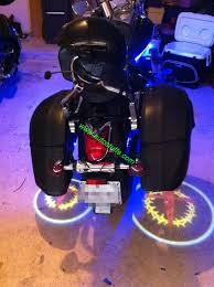 Led Lights For Motorcycle Led Ghost Rider Lights For Motorcycles Custom Logo Available