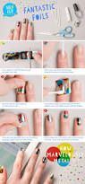 nail klub prove your u0027metal u0027 with our nail foil tutorial