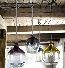 Blown Glass Pendant Lighting Eclectic Blown Glass Pendant Lights By The Forest Co