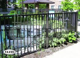 aluminum pool fences elite fence products inc ornamental