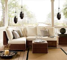Balcony Furniture Set by Minimalist L Shaped Deck Furniture Sets From Wicker For Balcony Of