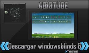 instala windows blinds 6 full en español para windows xp vista